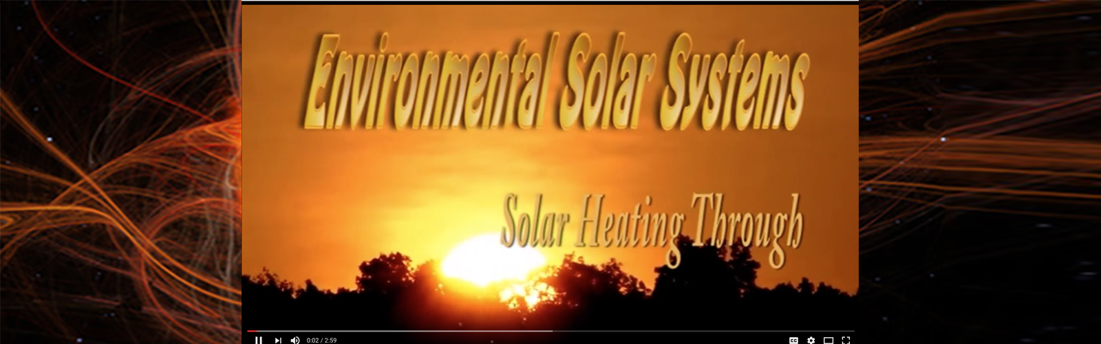Solar Trough Video